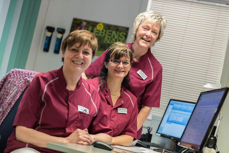 Examinierte Pflegekräfte (m/w/d)